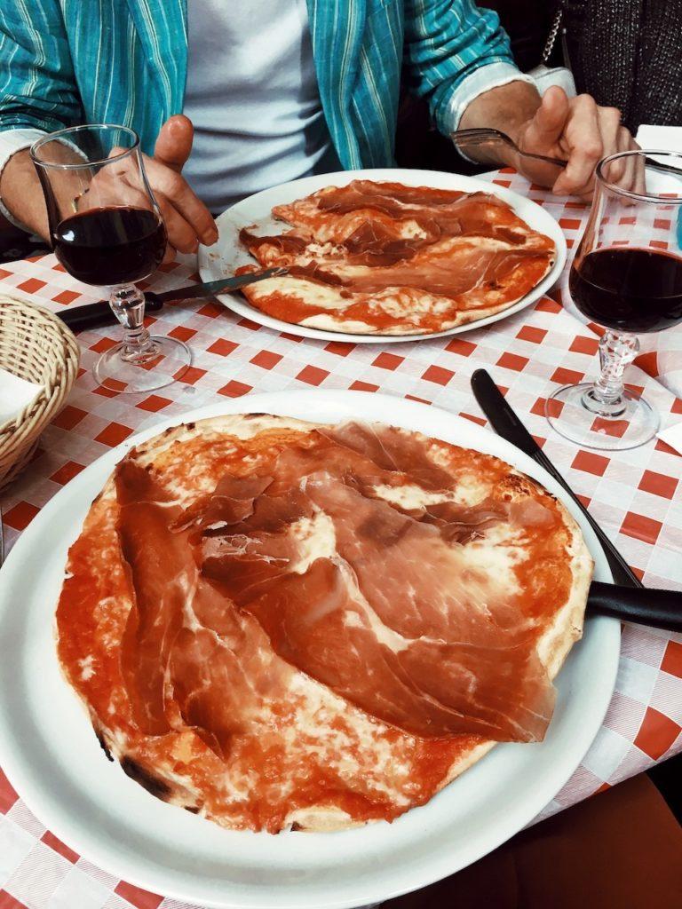 Италия. Рим. Пицца.