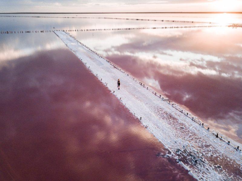 Геническое озеро. Яна Метелкина.