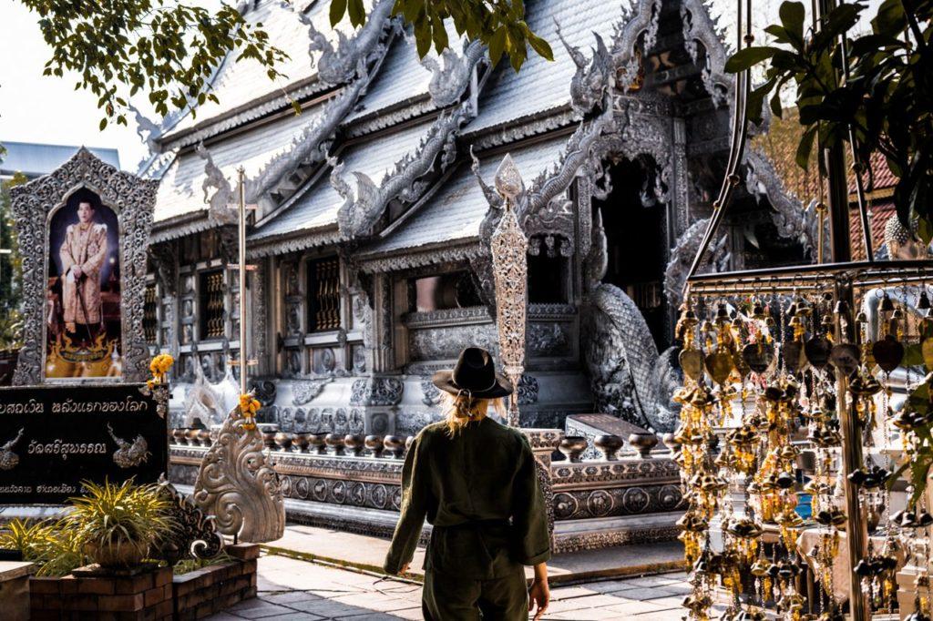 Серебряный храм. Чиангмай.